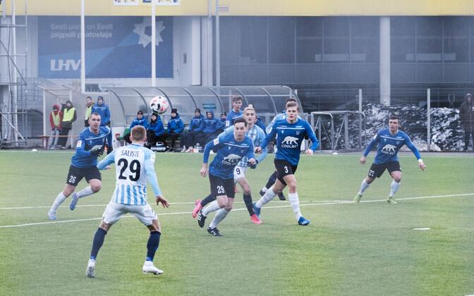 Пока в чемпионате Эстонии по футболу состоялся только один тур.