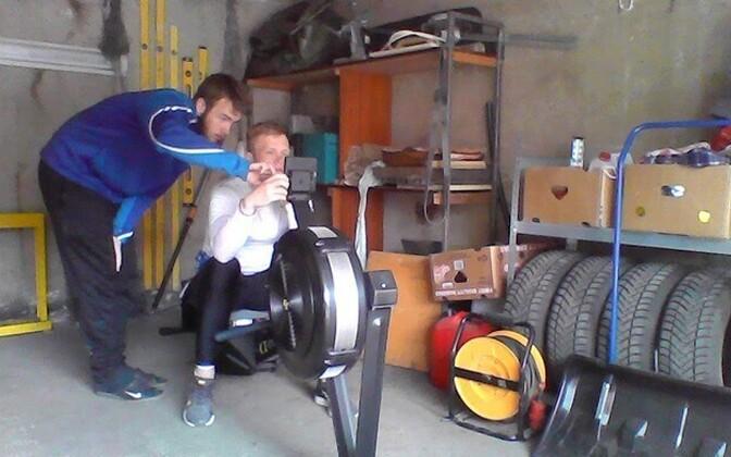 Bertty Nurm ja Rasmus Jõesaar