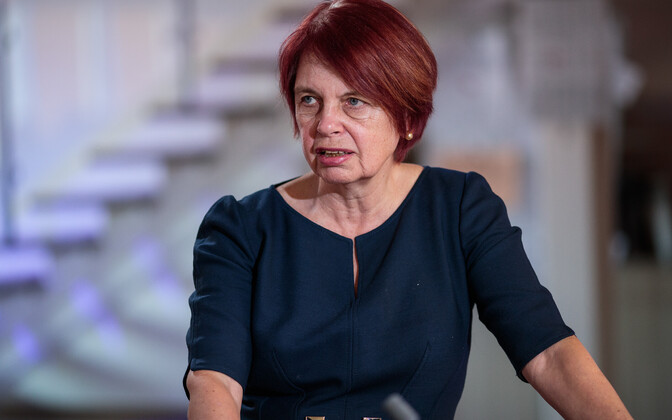 Irja Lutsar, the Head of the Government's COVID-19 research council