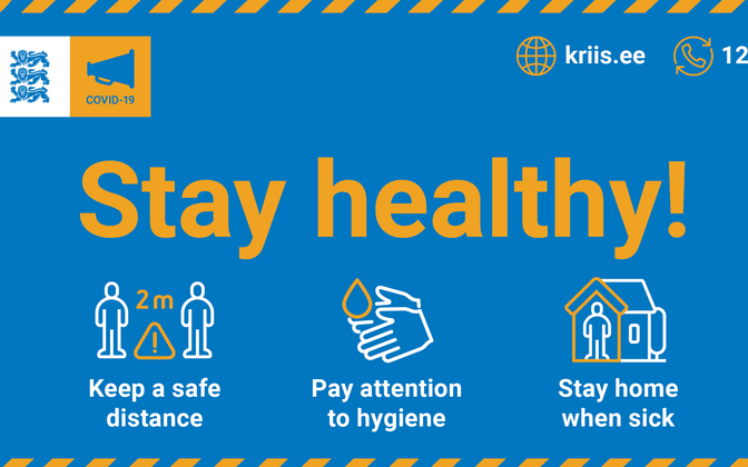 The government's new Stay Healthy! campaign is encouraging people to continue to comply with the coronavirus restrictions.