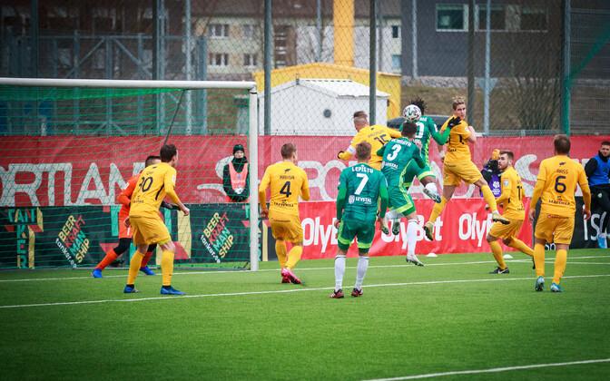Premium liiga kohtumine 7. märtsil Tallinna FCI Levadia ja FC Kuressaare vahel