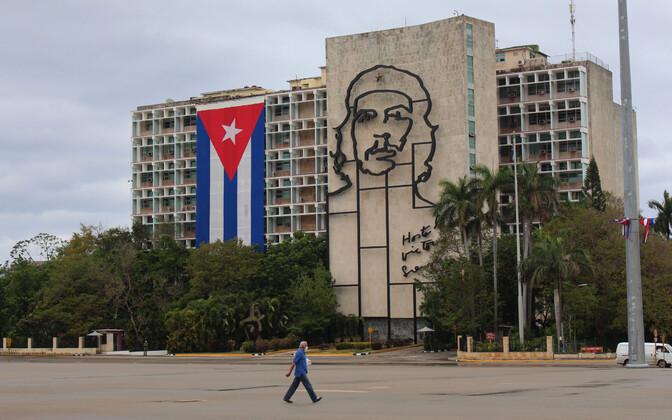 Plaza de la Revolucion Havannas.