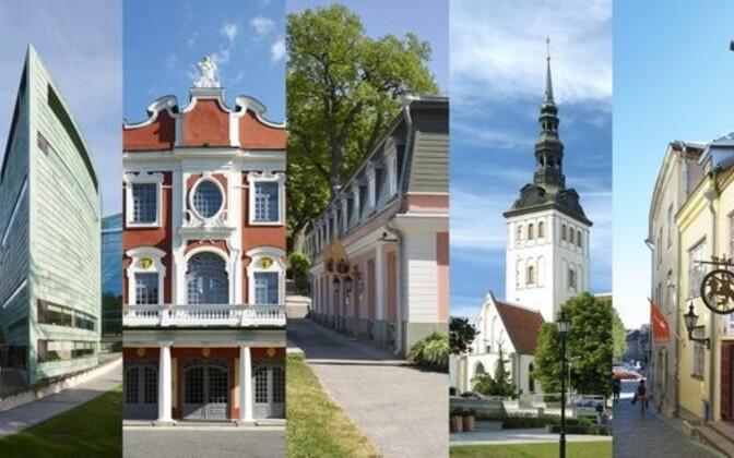 Филиалы Эстонского художественного музея.