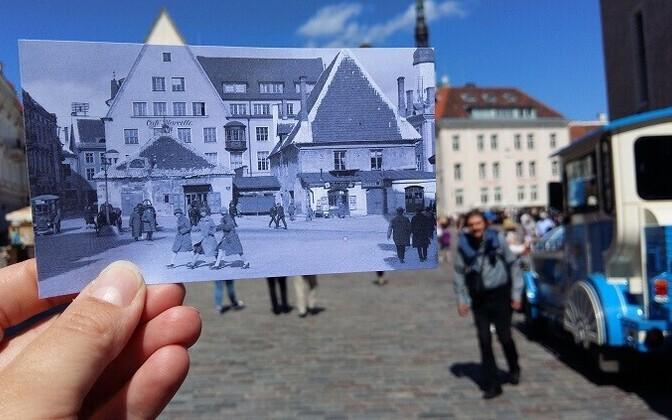 Fotojaht Tallinna päeval.