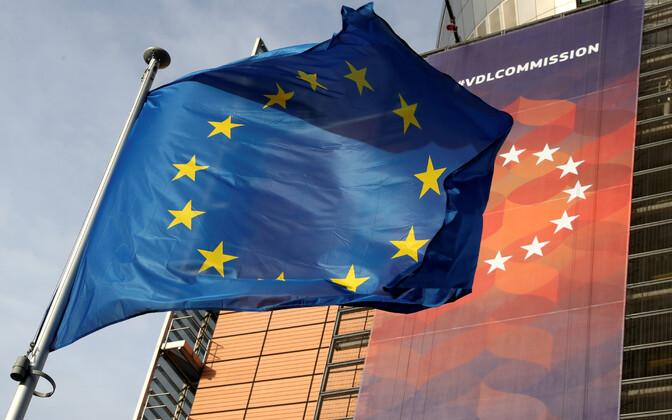 Euroopa komisjoni peamaja Brüsselis.
