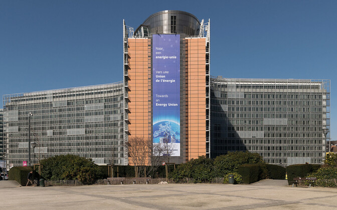 Berlaymont Building, headquarters of the European Commission, in Brussels.