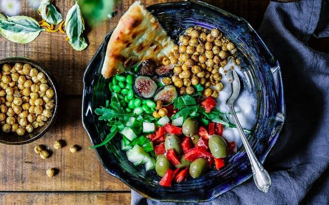 Uuringust selgus, et alla 15 protsendi õpilastest järgis Vahemere maade toitumist.