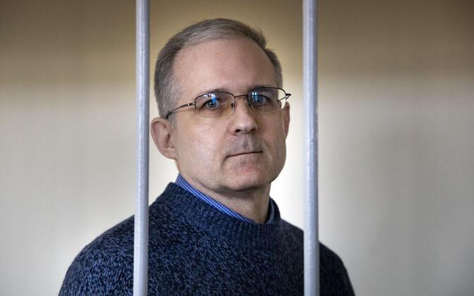 Spionaažiis süüdistatav ameeriklane Paul Whelan Vene kohtus.