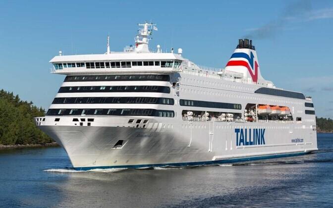 Tallinki laev Romantika.