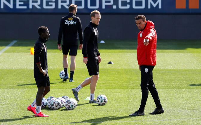 Linzi jalgpalliklubi treening