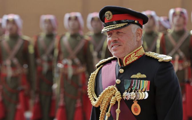 Jordaania kuningas Abdullah II.