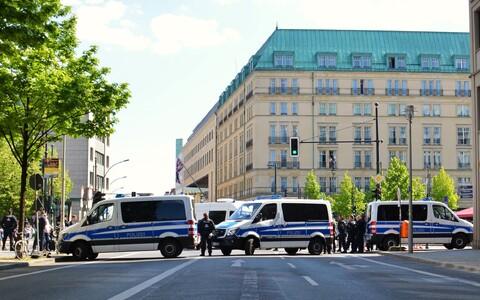 Полиция в Берлине. Иллюстративная фотография.