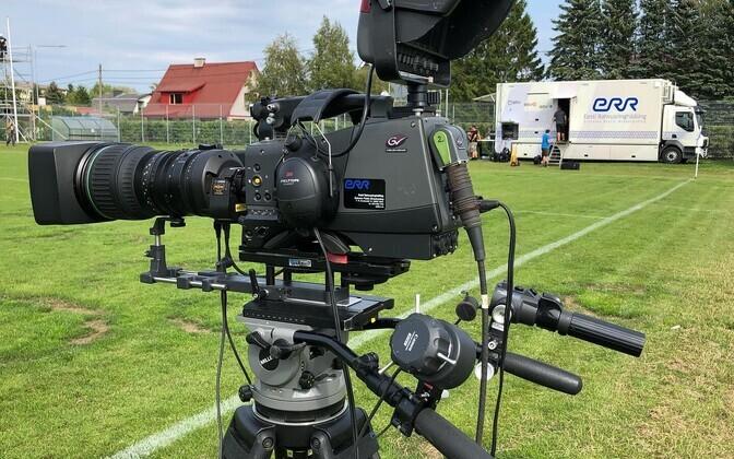 Права на трансляцию матчей чемпионата Эстонии могут получить и зарубежные телеканалы.