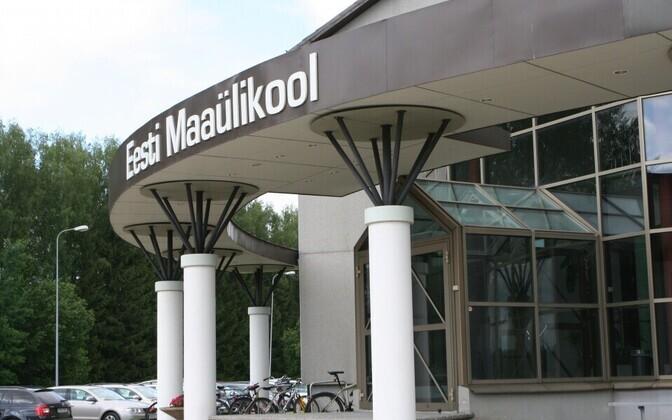 Эстонский университет естественных наук ждет новых студентов.