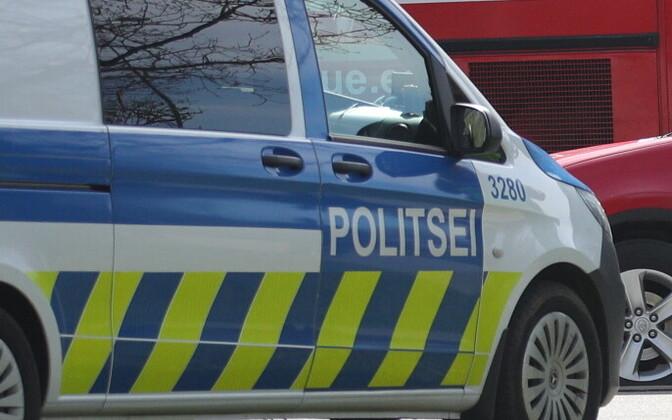 Полицейский автомобиль. Иллюстративная фотография.