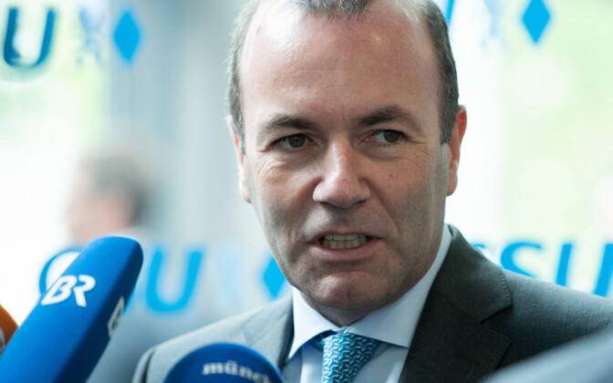 Euroopa Rahvapartei fraktsiooni esimees Euroopa Parlamendis Manfred Weber.