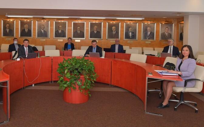 Tallinna Tehnikaülikooli nõukogu kogunes rektorit valima