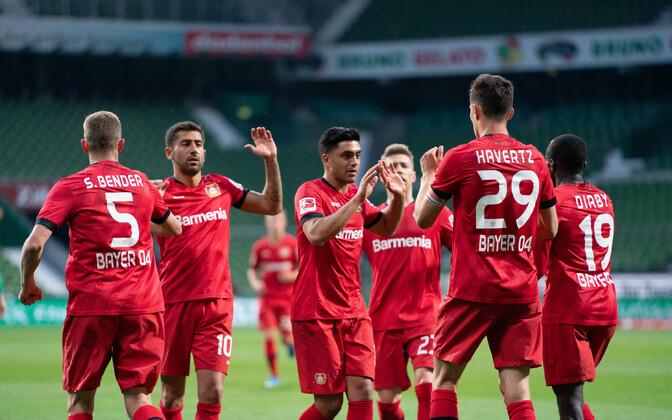 Võidukas Leverkuseni Bayer