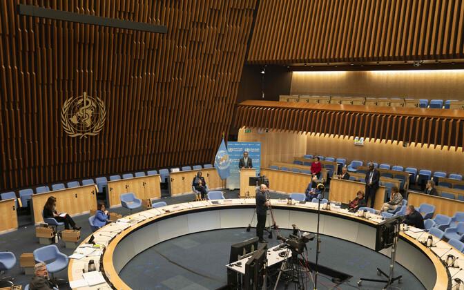 WHO selleaastane Maailma Terviseassamblee toimus peamiselt video vahendusel.
