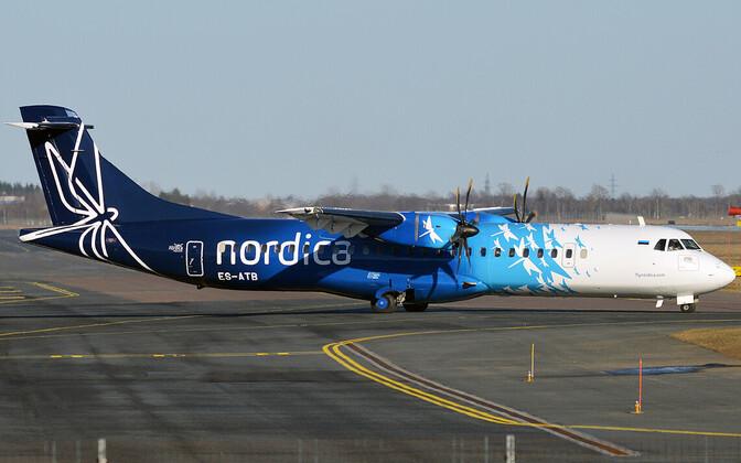 Самолет авиакомпании Nordica.