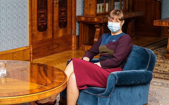 President Kersti Kaljulaid. Photo is illustrative.