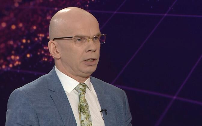Former Chancellor of Justice Allar Jõks.