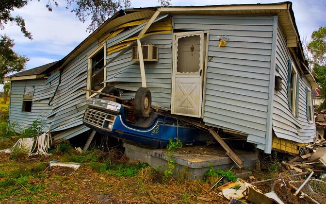New Orleansi orkaanikahjud.