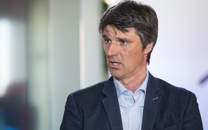 Руководитель Таллиннского аэропорта Рийво Тувике.