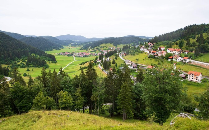 Sloveenia vaade.