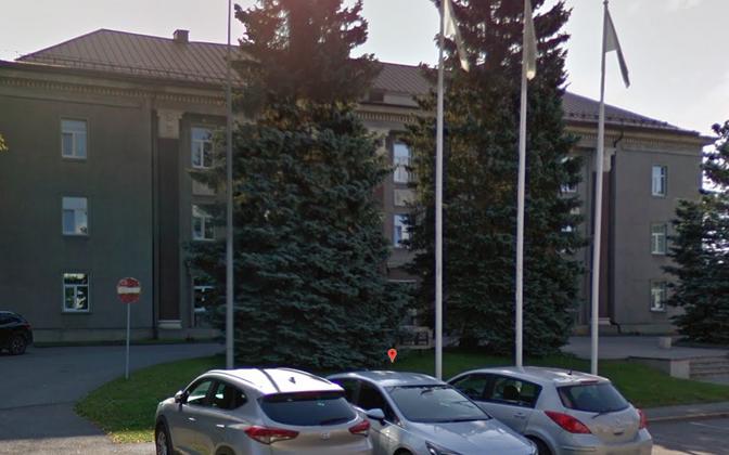 Бывшая штаб-квартира Eesti Energia в Йыхви.