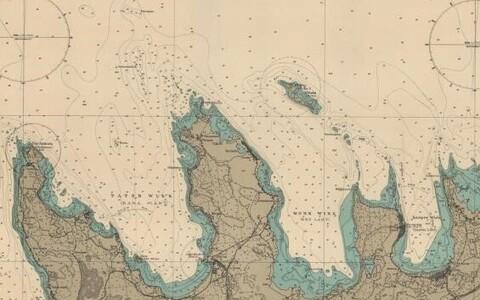 Paiganimedes säilivad mälestused olnust. 1942. aasta kaardil on Hara laht nimega