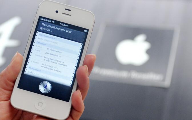 Apple'i häälabilise Siri esitlemine.