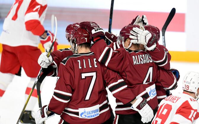 Läti jäähokikoondis