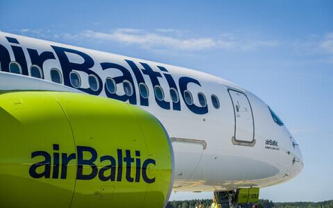 Авиакомпания AirBaltic в июне начнет полеты из Таллинна в Париж, Вену и Берлин.