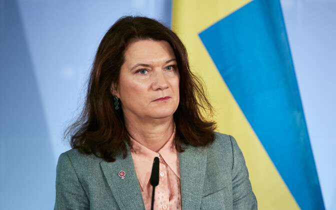Rootsi välisminister Ann Linde.