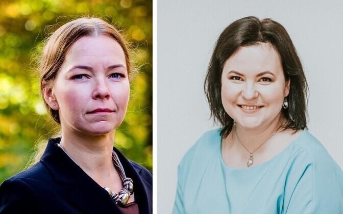Astrid Asi ja Liina Naaber–Kivisoo