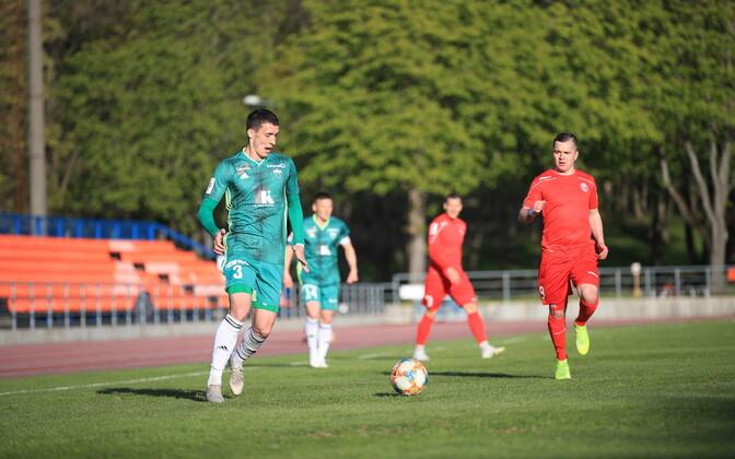 Матч чемпионата Эстонии по футболу впервые можно будет увидеть в эфире зарубежного телеканала