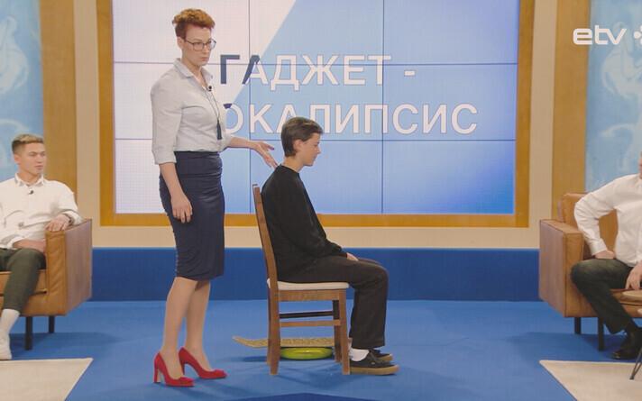 Физиотерапевт Алена Сайлев в передаче