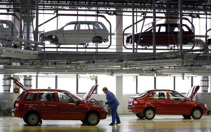 AvtoVAZ-i tehas Venemaal.
