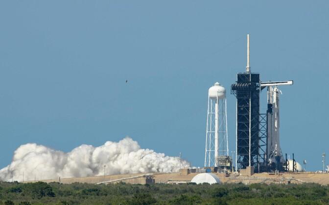 SpaceX Falcon 9 testimine Floridas.