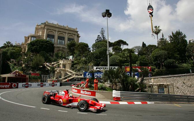 Monaco GP kümme aasta hiljem ehk 2006. aastal