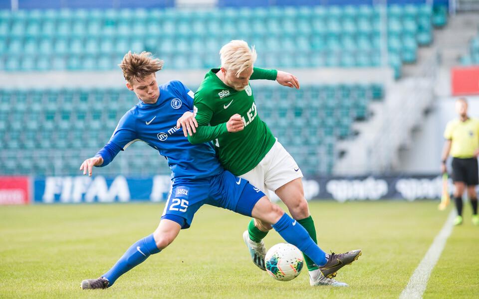 Premium liiga kohtumine Tallinna FC Flora ja Tartu JK Tammeka vahel