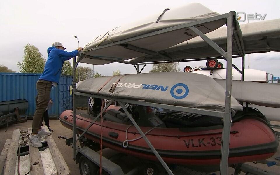 Eesti purjetajate võistluspaadid jõudsid Hispaaniast koju