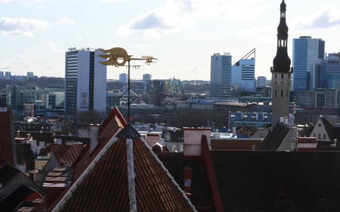 Tallinn city center