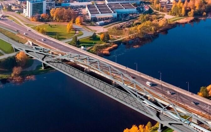 Rail Baltic предусматривает и строительство мостов.