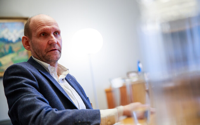 Председатель Isamaa Хелир-Валдор Сеэдер.
