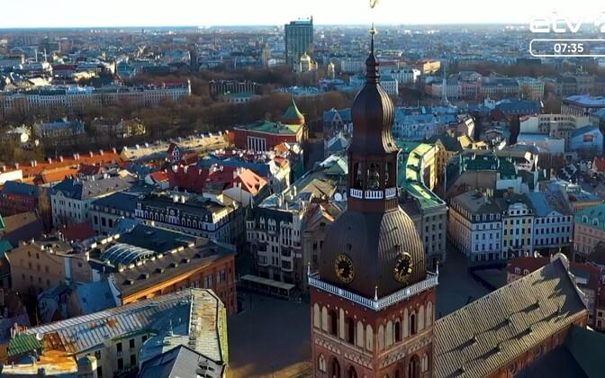 Рига. Латвия. Иллюстративная фотография.