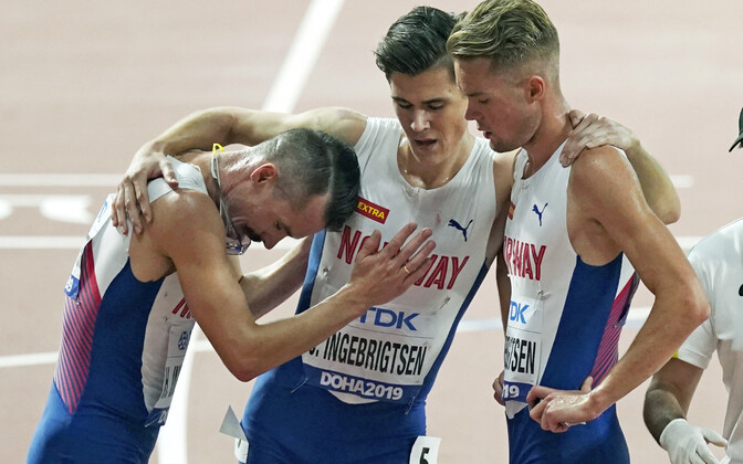 Henrik, Jakob ja Filip Ingebrigtsen