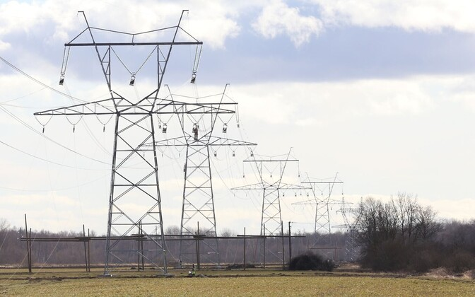 High-voltage power lines. Photo is illustrative.