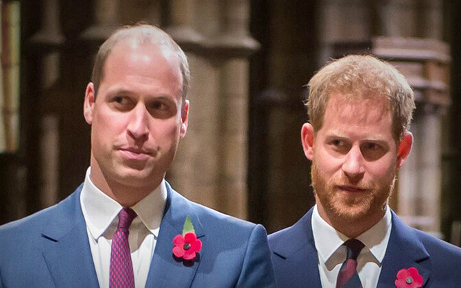 William ja Harry - printsid sõjas